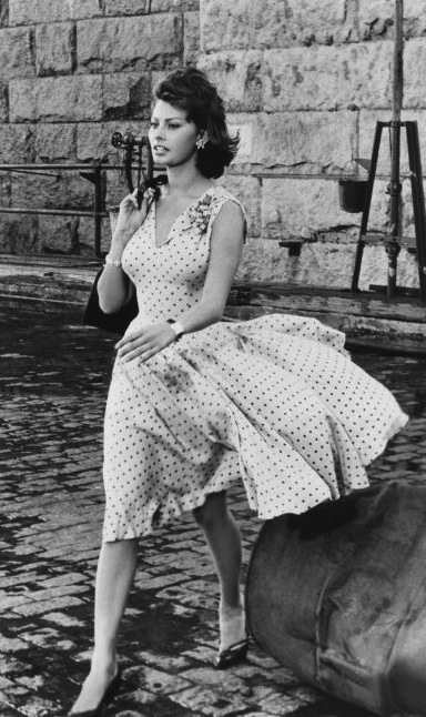 Sofia in dress